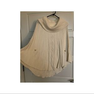 White House Black Market Poncho Like Sweater